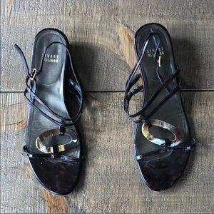 STUART WEITZMAN Turtle Shell Sandals